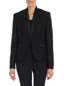 Karl Lagerfeld - Black jacket with sequins
