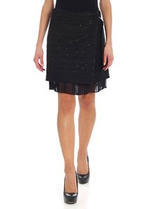 Karl Lagerfeld - Black wrap skirt