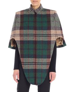 "Vivienne Westwood  - Multicolor checkered ""Frida"" cape"