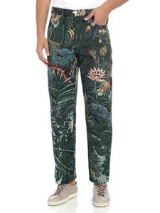 Kenzo - 5-pocket trousers with multicolor print