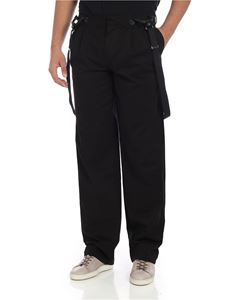 Moschino - Black pants with pleats