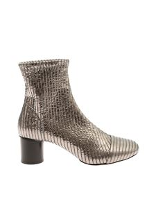 """Isabel Marant - Silver """"Datsy"""" ankle boots"""