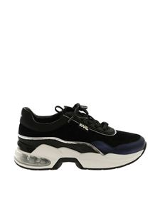 Karl Lagerfeld - Kaia Collection blue sneakers