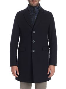 Herno - Blue padded coat