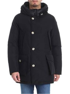 "Woolrich - ""Artic Parka"" black down jacket"