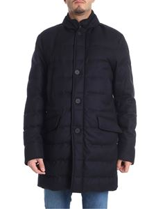 "Moncler - ""Keid"" blue down jacket"