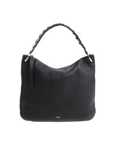 "Furla - Black ""Rialto"" shoulder bag"