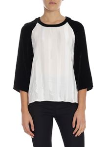 """Golden Goose Deluxe Brand - """"Ida"""" white and black sweater"""