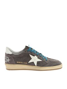 """Golden Goose Deluxe Brand - """"Ball star"""" grey and white sneakers"""
