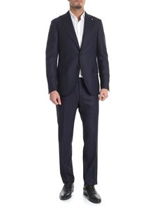 Lardini - Blue wool suit