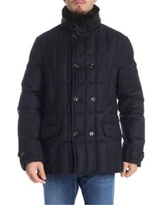"Moorer - Blue ""Siro-L"" down jacket"