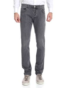Entre Amis - Grey jeans with logo