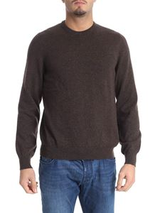 Fedeli - Melange brown cashmere sweater