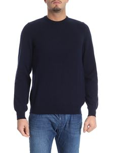 Fedeli - Dark blue cashmere sweater