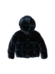 "Moncler Jr - Blue ""Caille"" down jacket"