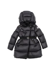 "Moncler Jr - Black ""Gelinotte"" down jacket"