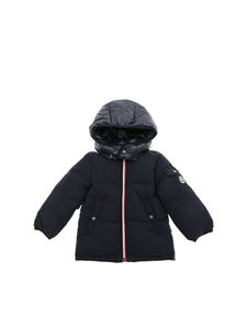 "Moncler Jr - Blue ""Jonquieres"" down jacket"