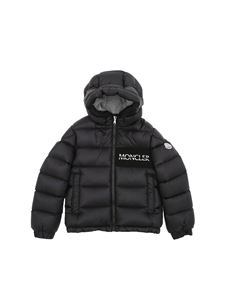 "Moncler Jr - Black ""Aiton"" down jacket"