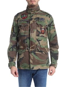 POLO Ralph Lauren - Camouflage jacket with patch