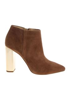 """Michael Kors - Brown """"Paloma"""" ankle boots"""