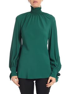 KI6? Who are you? - Green blouse with bows