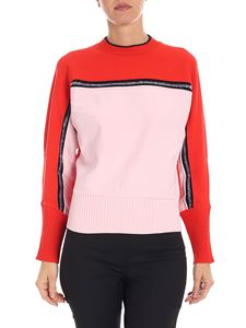 "Sportmax - Red and pink ""Cabreo"" sweater"