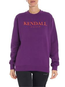 Gaelle Paris - Kendall purple sweatshirt