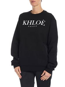 Gaelle Paris - Khloè black sweatshirt