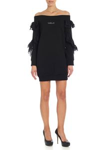 Gaelle Paris - Short black dress with rouches