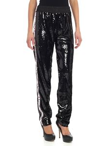 Gaelle Paris - Black sequin trousers