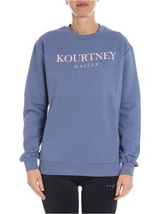 Gaelle Paris - Kourtney baby blue sweatshirt