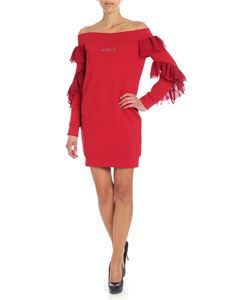 Gaelle Paris - Short red dress with rouches