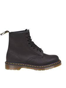 Dr. Martens - 1460 Greasy boots in black
