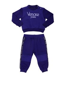 Versace Young - Blue tracksuit