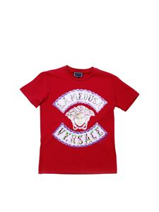 Versace Young - Fuchsia t-shirt with Medusa