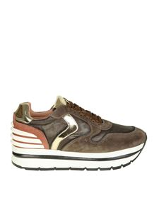 "Voile Blanche - ""May"" brown sneakers"