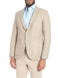 CARUSO - Beige two-button jacket