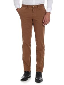 Rotasport - Brown trousers with pressed pleats