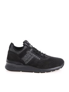 Tod's - Anthracite color suede sneakers