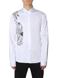 "Diesel Black Gold - White ""Serious Hybridcow"" shirt"