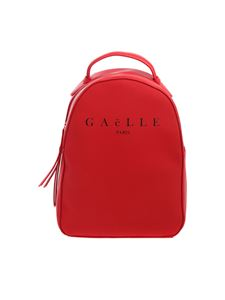 Gaelle Paris - Red backpack with black logo