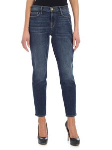 FRAME - Blue crop jeans