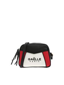 Gaelle Paris - Black cross-body bag with black metal logo