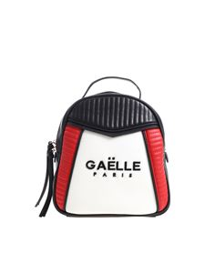Gaelle Paris - Black backpack with black metal logo