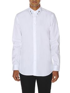 "Givenchy - White ""Arrow studs"" shirt"