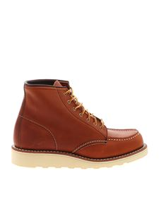Red Wing shoes - Tan-colored ankle boots