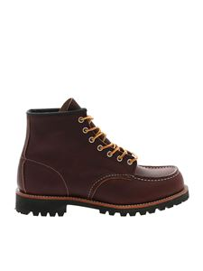 Red Wing shoes - Stivaletto in pelle marrone