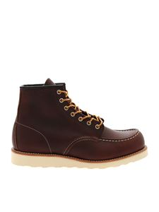 Red Wing shoes - Brown leather ankle boots