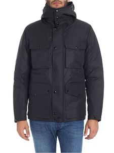 CP Company - Black down jacket with hood