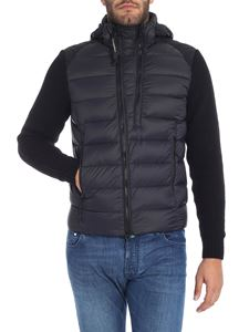 CP Company - Black hooded down jacket